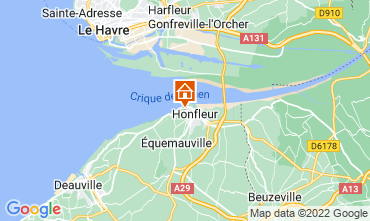 Mappa Honfleur Monolocale 115791