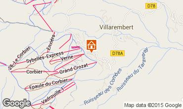 Mappa Le Corbier Appartamento 60817