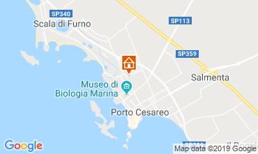 Mappa Porto Cesareo Appartamento 117949