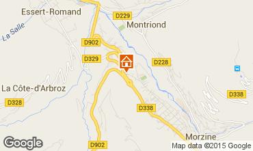 Mappa Morzine Appartamento 82300