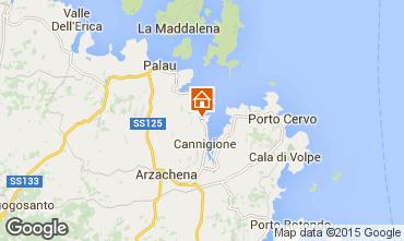 Mappa Porto Cervo Appartamento 75739