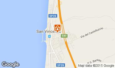 Mappa San Vincenzo Appartamento 92787