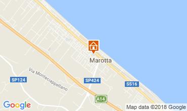 Mappa Marotta Appartamento 114329