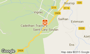 Mappa Saint Lary Soulan Chalet 102168