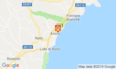 Mappa Avola Appartamento 113711