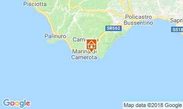 Mappa Marina di Camerota Appartamento 21885