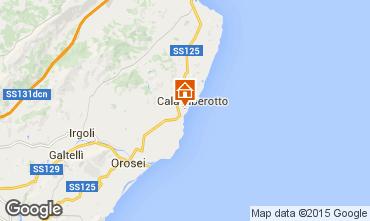 Mappa Cala Liberotto Appartamento 40444