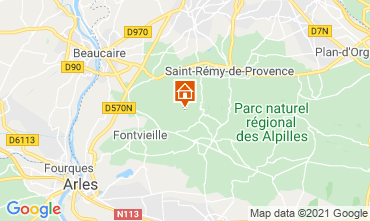 Mappa Les Baux de Provence Casa 76062
