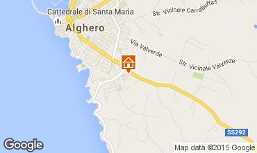 Mappa Alghero Appartamento 45136