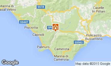 Mappa Palinuro B&B 77127