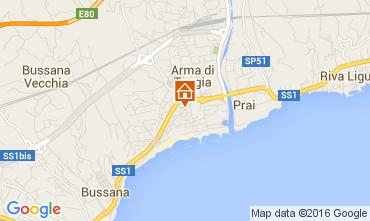 Mappa Taggia Appartamento 86472
