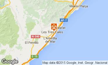 Mappa La Ametlla de Mar Villa  60099