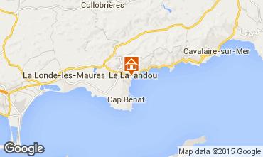 Mappa Le Lavandou Appartamento 94876