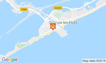 Mappa Palavas-les-Flots Appartamento 29561