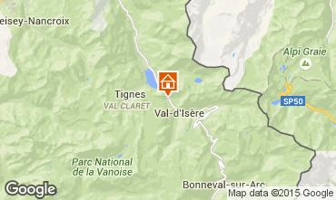 Mappa Val d'Isère Appartamento 73448