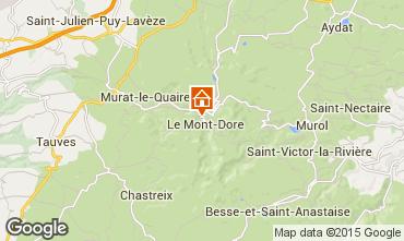 Mappa Le Mont Dore Appartamento 50842