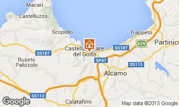 Mappa Castellammare del Golfo Appartamento 80319