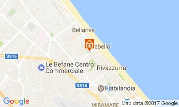 Mappa Rimini Appartamento 107913