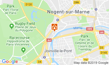 Mappa Joinville-le-Pont Agriturismo 118528