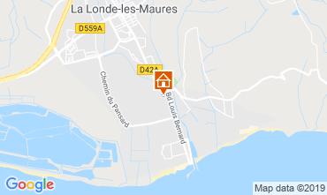 Mappa La Londe les Maures Monolocale 119855
