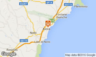 Mappa Avola Villa  62144