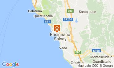 Mappa Castiglioncello Appartamento 108941