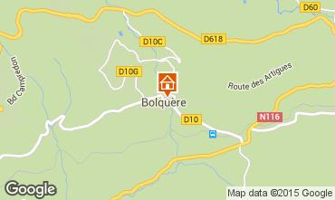 Mappa Bolquère Pyrenées 2000 Appartamento 3982