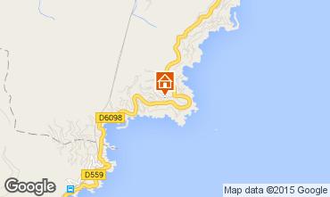 Mappa Théoule sur Mer Villa  78968