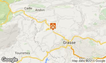 Mappa Grasse Villa  93466