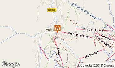 Mappa Valloire Appartamento 38237