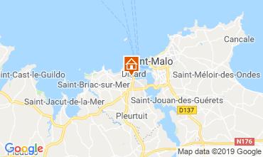 Mappa Dinard Appartamento 102434