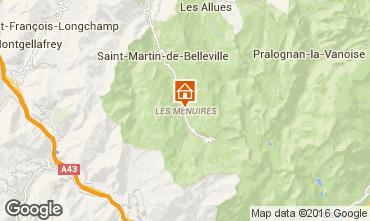 Mappa Les Menuires Appartamento 1673