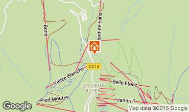Mappa Les 2 Alpes Appartamento 1171