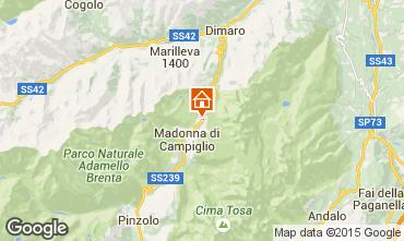 Mappa Madonna di Campiglio Appartamento 49968