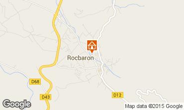 Mappa Rocbaron Appartamento 5757