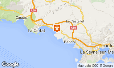 Mappa Saint Cyr sur Mer Villa  93128
