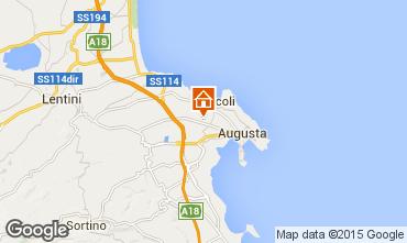 Mappa Brucoli Villa  93245