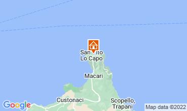 Mappa San Vito lo Capo Appartamento 53467