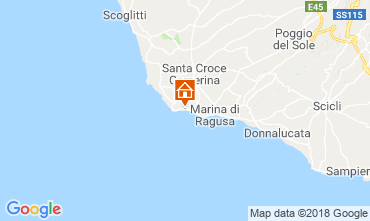 Mappa Punta Secca Villa  116102
