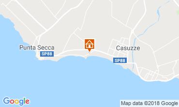 Mappa Marina di Ragusa Villa  116102