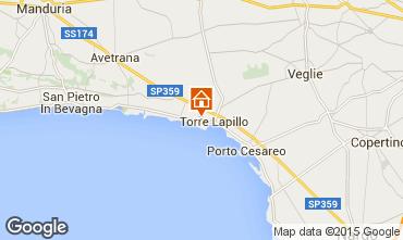 Mappa Porto Cesareo Appartamento 96422