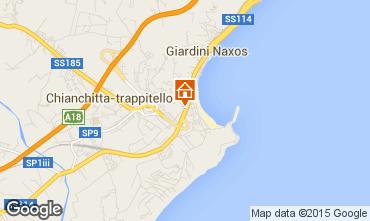 Mappa Giardini Naxos Appartamento 94523