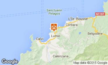 Mappa Lumio Villa  11010