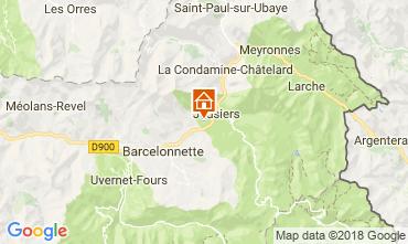Mappa Jausiers Chalet 113520