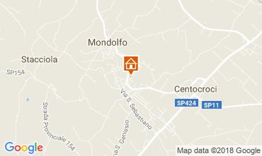 Mappa Mondolfo Appartamento 114437