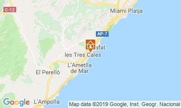 Mappa La Ametlla de Mar Villa  118540