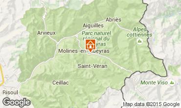 Mappa Molines Saint-Véran Appartamento 28786