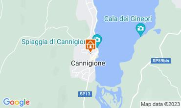 Mappa Cannigione Appartamento 87120