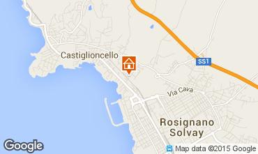 Mappa Castiglioncello Appartamento 96820