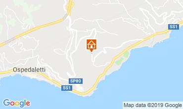 Mappa Sanremo Villa  117828